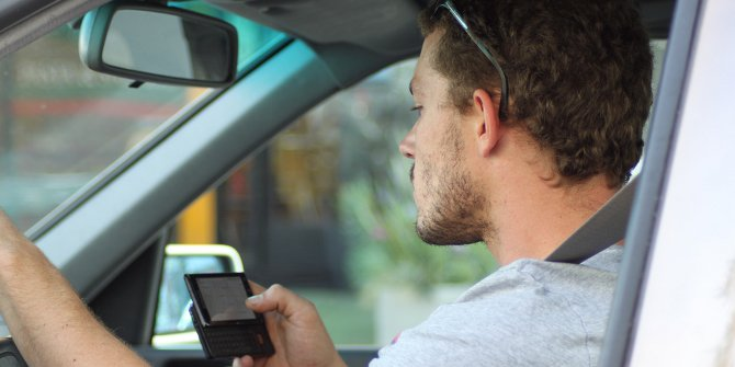 Distracted driving featured