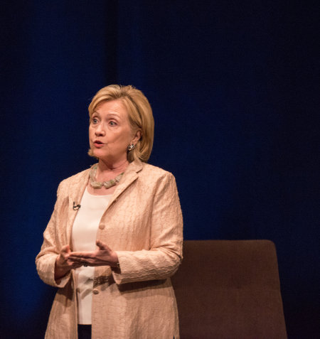 Former Secretary of State, Hillary Clinton. Credit: LBJ Foundations (Flickr, C-BY-2.0)