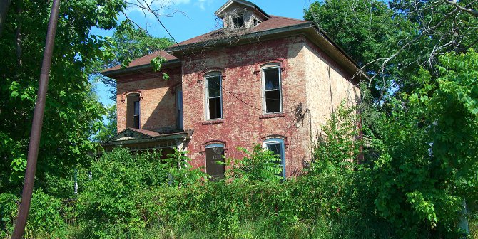 Abandoned home in Flint, Michigan. Credit: NES Jumpman (Flickr, CC-BY-SA-2.0)
