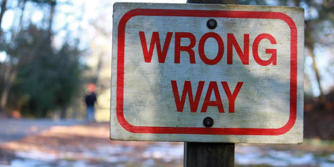 Wrong way featured