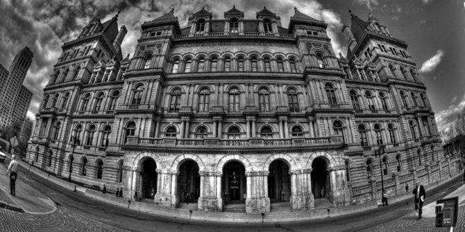 New York state house featured