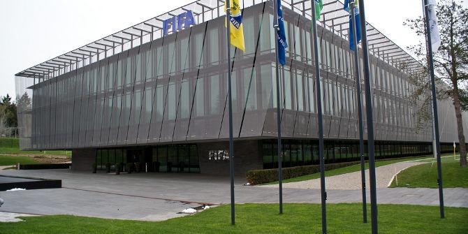 FIFA Headqearters, Zurich. Credit: davidpc_ (Flickr, CC-BY-NC-SA-2.0)