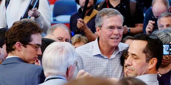 Former Florida Governor, Jeb  Bush Credit: Michael Vadon (Flickr, CC-BY-SA-2.0)