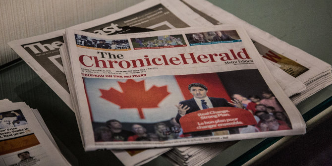 Canada election paper