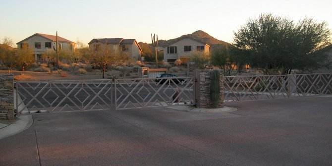 Gated communities entrench social segregation in suburban communities which are already racially similar.
