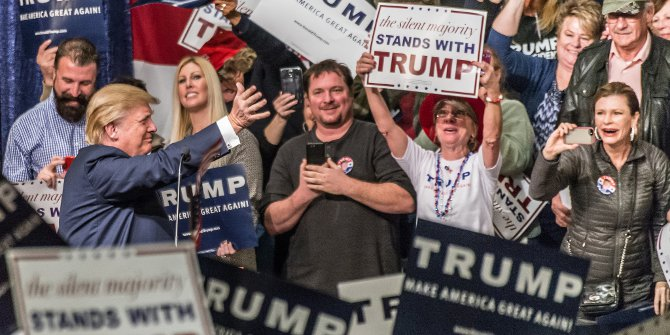 Trump rally featured