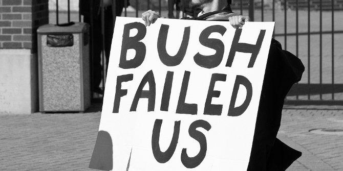 Bush failed featured