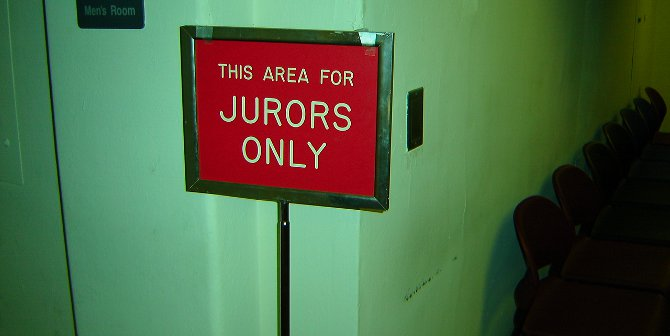 Selection procedures which favor whites mean that racial minorities are significantly underrepresented on juries.