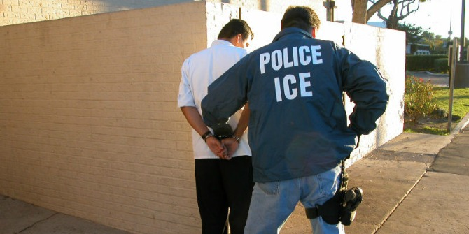 Money, not ideology, incentivizes local authorities to help the federal government detain immigrants.
