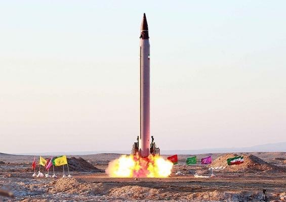 'Emad' ballistic missile, Tasnim News Agency (CC by 4.0)