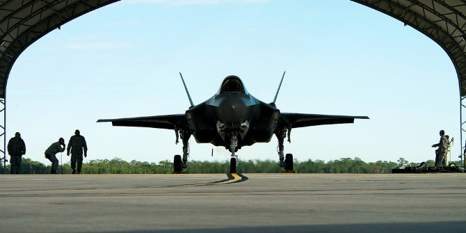 f35 fighter featured