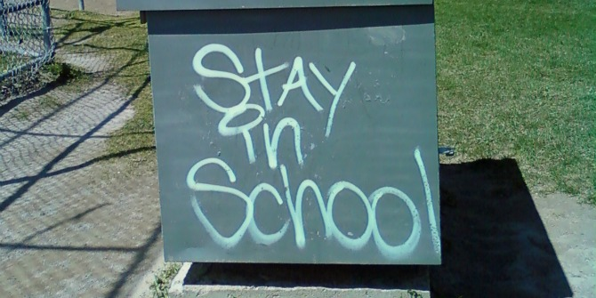 stay in school featured