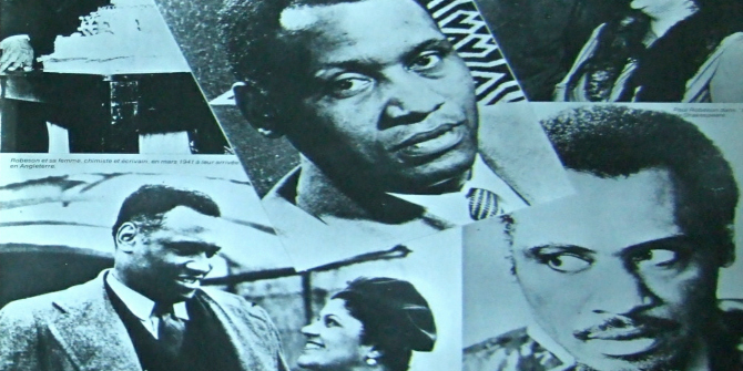 Book Review: Paul Robeson: The Artist as Revolutionary by Gerald Horne