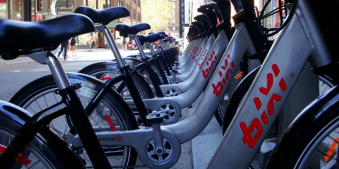 Bike sharing schemes can have a positive impact on nearby house prices.