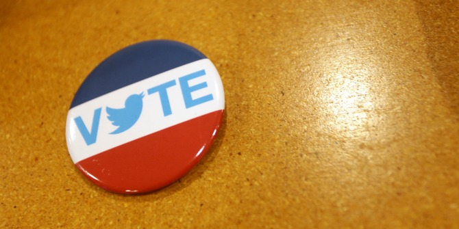 Twitter allows political campaigns to respond to emerging issues in real-time
