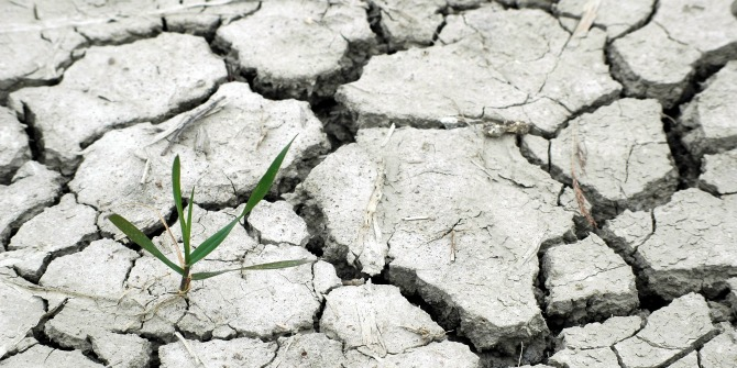Climate change impacts the economic development of low-income countries