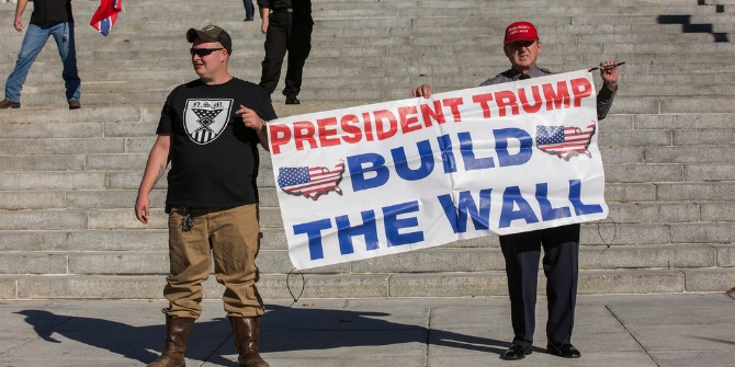 trump-supporters-wall