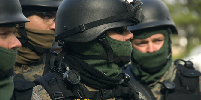 SWAT raids are more about symbolism than reducing crime in the long term.