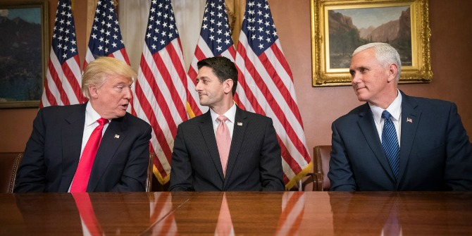 Cracks in Republican unity between Trump and Congress are already beginning to show