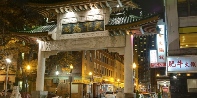Population change means fewer Asians are living in Chinatowns, but more Asians now own properties within them.