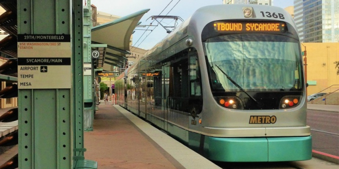 Why public transit can be good for business, even in the auto-oriented Sunbelt