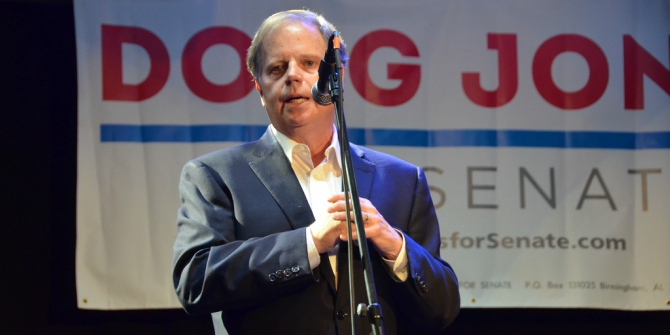 In Alabama's deeply divided Senate election, Democrat Doug Jones faces an uphill battle