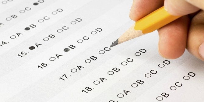 Carefully designed multiple choice tests can help teachers to quickly determine what students don't understand