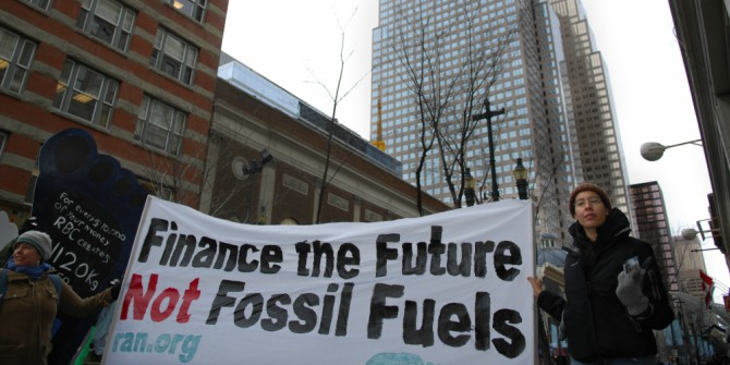 We can't rely on corporations to save us from climate change