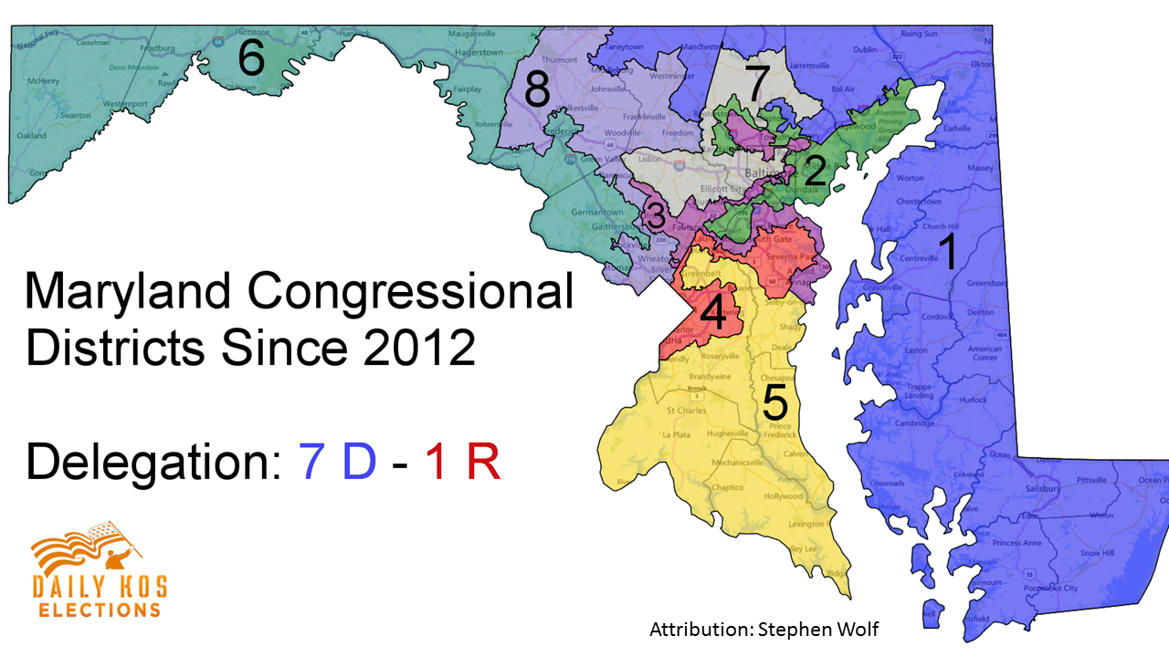 Marylands Electoral Maps Show How Proportional Representation Could 2nd Judicial Circuit Historical Society Solve The Problem Of Gerrymandering