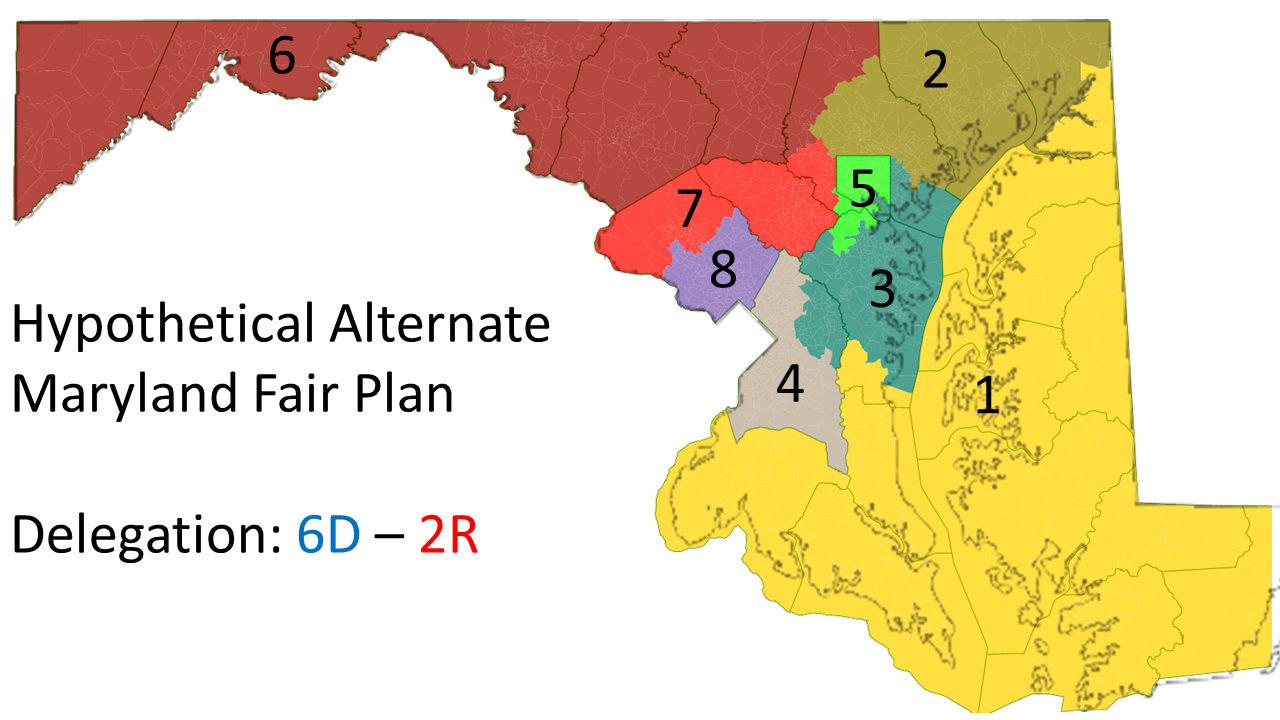 Maryland's electoral maps show how proportional