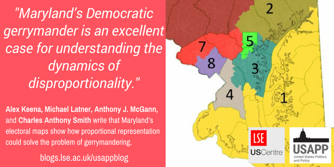 Marylands electoral maps show how proportional representation could
