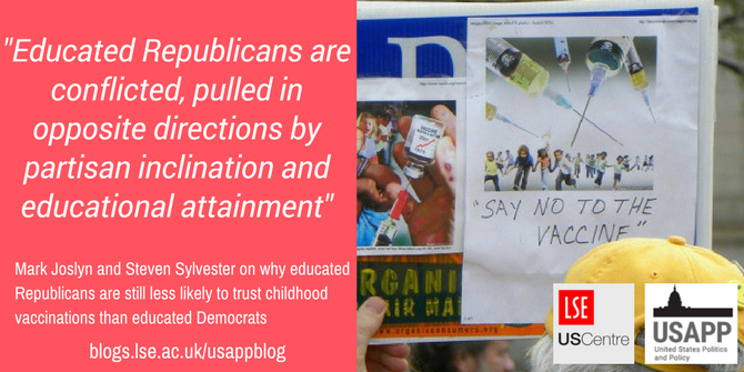 Pro Vaccine Messages Can Boost Belief >> Why Educated Republicans Are Still Less Likely To Trust Childhood