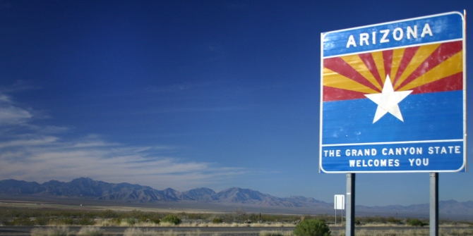 The Ballpark podcast Episode 3.2 Arizona: Immigration politics in the Grand Canyon State