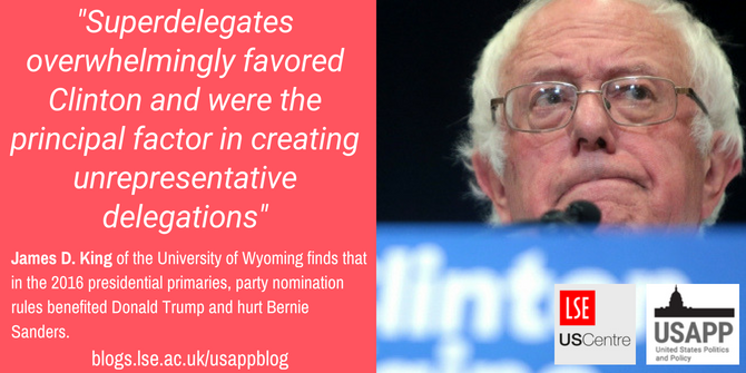 in the 2016 presidential primaries party nomination rules benefited