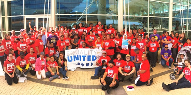 United Airlines in-flight catering workers' union victory shows there is hope in the face of employers' anti-union campaigns and weak legal protections