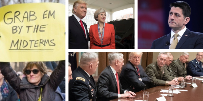 Shutdowns, election upsets and historic meetings – reviewing 2018 in US politics through our coverage