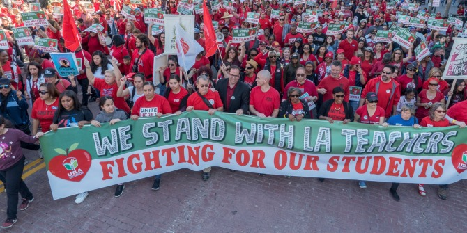 The Los Angeles teachers' strike is the latest dispute in a national movement