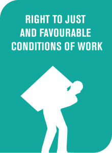 Right to Just and Favourable Conditions of Work