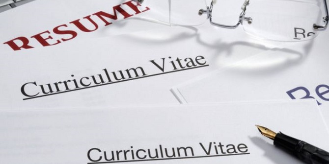 Should your academic CV (or résumé) go digital, at last?
